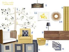 navy and mustard color scheme ideas