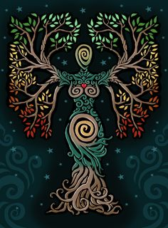 Tree of Life Art ::  ORUPSIA.deviantart.com on @DeviantArt