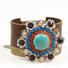 Estilo occidental cuero brazalete pulseras por CatenaSieraden