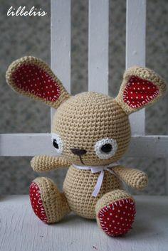 Tuftybunny  amigurumi toy von lilleliis
