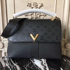 a57f9d276810 Louis Vuitton Very One Handle Noir Awesome Prada purses and handbags or Prada  handbags prices then Click visit above for more options -