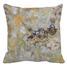 Bluebirds in the Snow Designer Art Throw Pillow Exquisitely gorgeous, you will LOVE our decorative Stunning Bluebirds in the Snow Designer Art Gift Collection. This whimsical collection features a stunning color palette inspired by the lush gardens of the English Country-side. Perfect as a gift! Our Magnificent Bluebirds in the Snow Designer Art Gift Collection is designed by artist Marie-Jose Pappas of Innocent Originals.