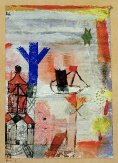 Paul Klee - Kleiner Dampfer, 1919.