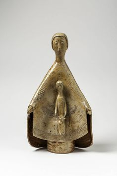 Rare and Important Stoneware Sculpture by Jean & Jacqueline Lerat, La Borne image 2