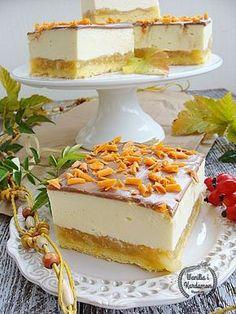 Wanilia i Kardamon: Serniko-szarlotka Apple Cake Recipes, Cheesecake Recipes, Dessert Recipes, Polish Desserts, Polish Recipes, First Communion Cakes, Fruit Cobbler, French Desserts, Homemade Cakes