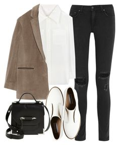 """""""Sin título #294"""" by betsy-dichi ❤ liked on Polyvore featuring rag & bone, Chloé, Steve Madden and Mackage"""