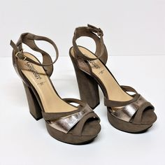 WOMENS LADIES NEW LOOK PLATFORM WITH BLOCK HIGH HEEL SANDAL SHOES SIZE 8