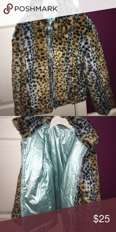 Girls 2 sided jacket. Fur. Brand new. Fur jacket for girls size 11-12 years old. 2 sided. Never worn. Brand new. Jackets & Coats