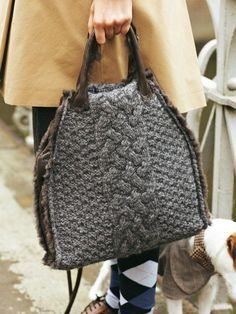 Knit Purse - Sherlock Holmes collection  Burda
