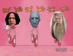 A Wizard's Ballet | 22 Lord Voldemort Dance Moves You Need In Your Life. LOL LOOK AT SNAPE! OMG!
