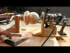 How To Make Large Balls Out Of Wood - http://www.gottagodoityourself.com/how-to-make-large-balls-out-of-wood/