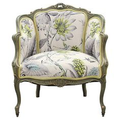 Deco Furniture, Furniture Makeover, Vintage Furniture, Chair Upholstery, Upholstered Furniture, French Dining Chairs, Types Of Sofas, Modern Couch, French Home Decor