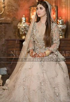we promise to deliver the best of us. Beautiful Bridal Dresses, Asian Bridal Dresses, Asian Wedding Dress, Pakistani Bridal Dresses, Wedding Dresses For Girls, Bridal Outfits, Bridal Wedding Dresses, Walima Dress, Pakistani Bridal Makeup