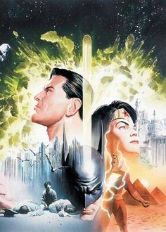Batman, Superman & Wonder Woman by Alex Ross