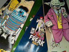 La série Jart Freak est magnifique ! Dispo chez HawaiiSurf !! @jartskateboards #skateboard #skateboarding #skate #skateeveryday #boards #boardporn #starwars #starwarsfan