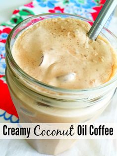 Creamy Coconut Oil Coffee :: Blooming on Bainbridge Drink This Weight Loss Coffee, feel great and make thousands weekly. Watch the Video: . Yummy Drinks, Healthy Drinks, Healthy Snacks, Yummy Food, Healthy Eats, Smoothie Drinks, Smoothie Recipes, Smoothies, Detox Recipes