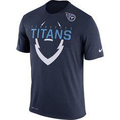Tennessee Titans Nike Legend Icon Dri-FIT T-Shirt - Navy Dri Fit T abce6588b63