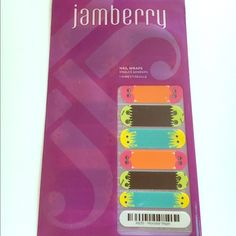 Jamberry New Monster Mash Nail Wraps Jamberry New Monster Mash Nail Wraps. I bundle! Just ask  Jamberry Makeup