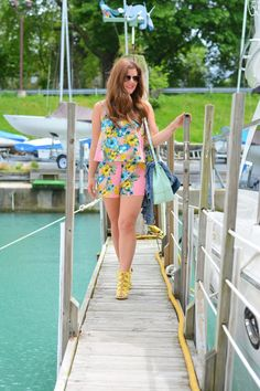 Weekend Wear: The Floral Romper | A Lily Love Affair