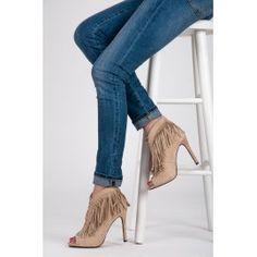 Viazané topánky Boho M226BE