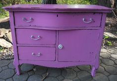 purple shabby chic furniture google search