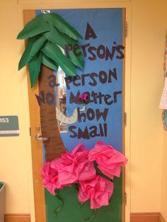 Dr. Seuss door decoration