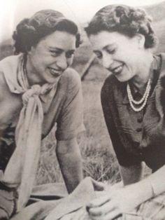 royalwatcher:  Sisters-Margaret and Elizabeth