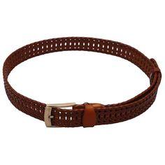 Stylehoops Brown Braided Belt @ Rs. 499/- #braidedbelt #belt #brownbelt #bucklebelt #trendybelt