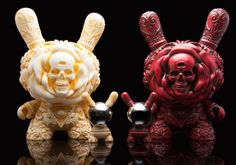 """We are seeing RED... """"The Clairvoyant"""" 8-inch Kirdrobot Dunny from JRYU & Kidrobot!!!"""
