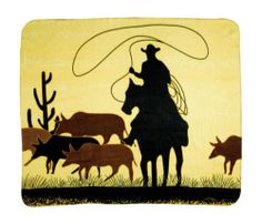 Jaycee Horse and Western  - Western fleece roper blanket / throw, AU$33.50 (http://www.jayceehorseandwestern.com/products/western-fleece-roper-blanket-throw.html)