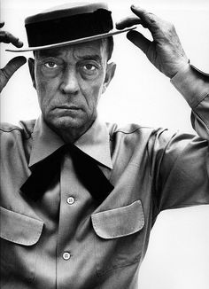 Buster Keaton #avedon Never have seen him so aged!!! My favorite silent film star.