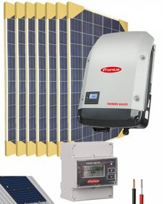 Kit Conexion Red Monofásico 2000W 10800Whdia con 1 MPPT Kit Solar, I Shop, Outdoor, Ideas, Open Bathroom, Alternative Energy, Renewable Energy, Solar Power, Outdoors