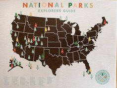National Parks Explorers Guide