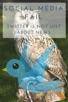 Social Media Fail: Twitter is Not Just About News