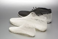 3D printed shoes.