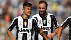 Juventus coach Massimiliano Allegri insists Gonzalo Higuain does not need the support of Paulo Dybala to find the net.Higuain has scored seven goals in 14 Serie A appearances this term but has struggled to find his best form since Dybala suffered a thigh Juventus Fc, Manchester City, Champions League, Messi, Jeep, Football, World, Tops, Thursday