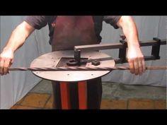 ▶ Volute en Fer avec la cintreuse à Volute Wolutor - YouTube