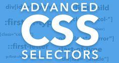 Advanced CSS selectors