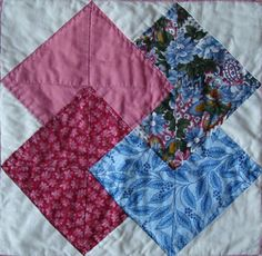 How to make a Card Trick quilt block