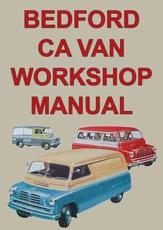 BEDFORD CA Van 1952-1955 Workshop Manual CAR MANUALS DIRECT | Download Workshop Manuals Immediately