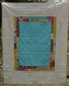 great quilt back!