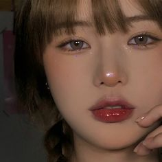 Korean Eye Makeup, Korea Makeup, Asian Makeup, Makeup Inspo, Makeup Art, Beauty Makeup, Hair Makeup, Pretty Makeup, Makeup Looks
