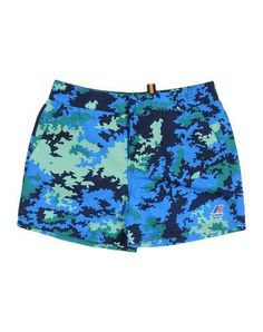 K-WAY Boy's' Swim trunks Blue 14 years