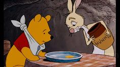 The Many Adventures of Winnie the Pooh 1977 Pooh and Rabbit