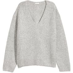 Weiter Pullover 29,99 (3330 RSD) ❤ liked on Polyvore featuring tops, sweaters, h&m sweaters, pullover sweater, h&m tops, pullover top and sweater pullover