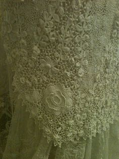 THE SHEELIN LACE MUSEUM; so intricate and delicate....
