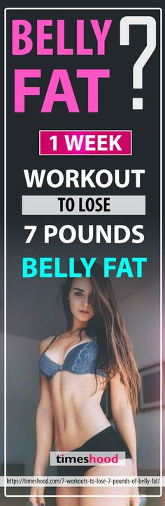 1 Week workout to Lose 7 Pounds | Posted By: CustomWeightLossProgram.com