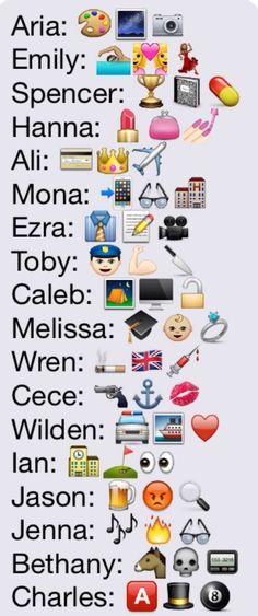 Pll in emojis