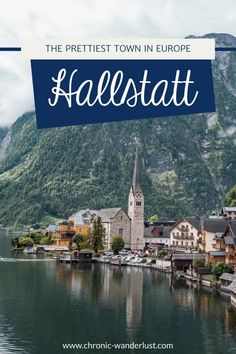 Hallstatt really is one of the most beautiful places in Europe! My tips for a trip to the UNESCO region and many great photo spots can be found here! Plan your trip to Hallstatt right now! #Hallstatt #Austria #Salzkammergut #Travel #PrettyTowns #Europe