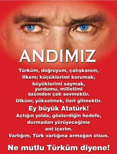 AtatürkYoluDeğişmez İlkeleriEğilmez  ÇÜNKÜ, AND İÇTİK>>> pic.twitter.com/DfSuxdAJup